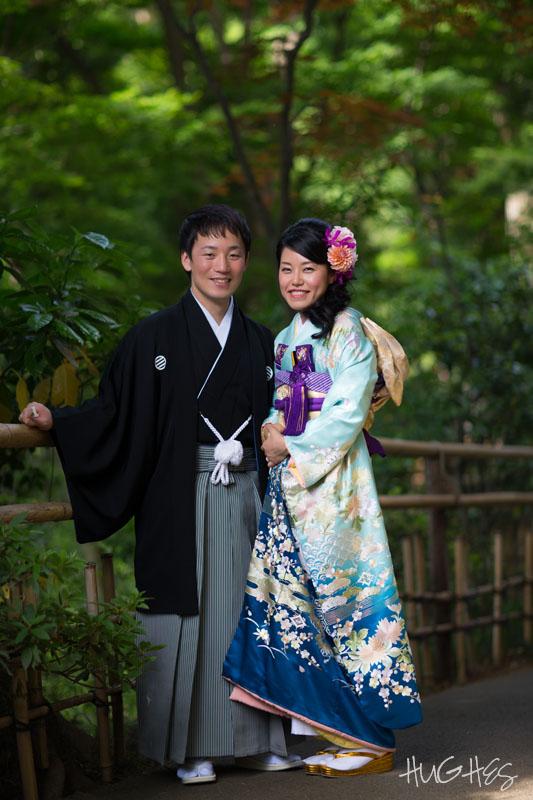 Japanese shinto wedding hotel chinzanso Tokyo