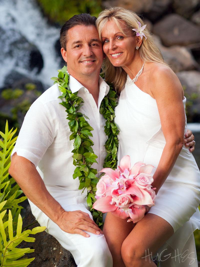 Grand Wailea Vow Renewal Portrait