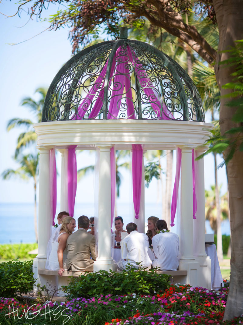 Wedding Party, Grand Wailea Gazebo