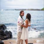 Kapalua Bay, wedding couple, portrait