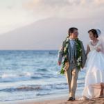 japanese couple, wedding, grand wailea, maui, photography