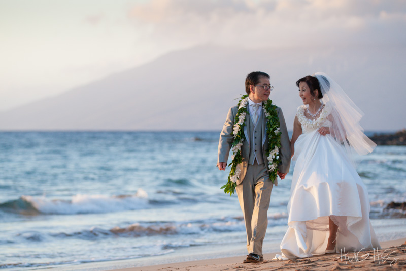 japanese couple, wedding, grand wailea, maui, photography