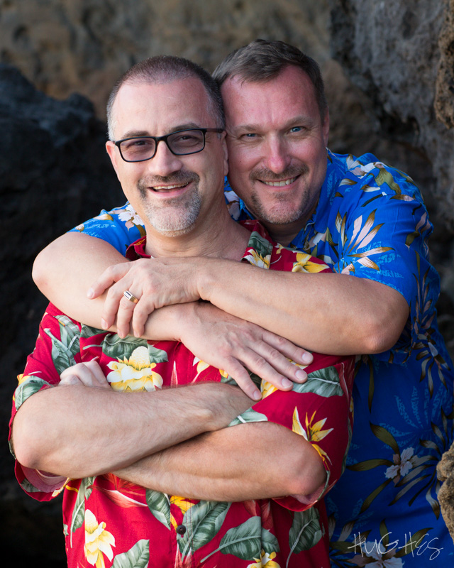 Makena wedding couple, maui, portrait, LGBT