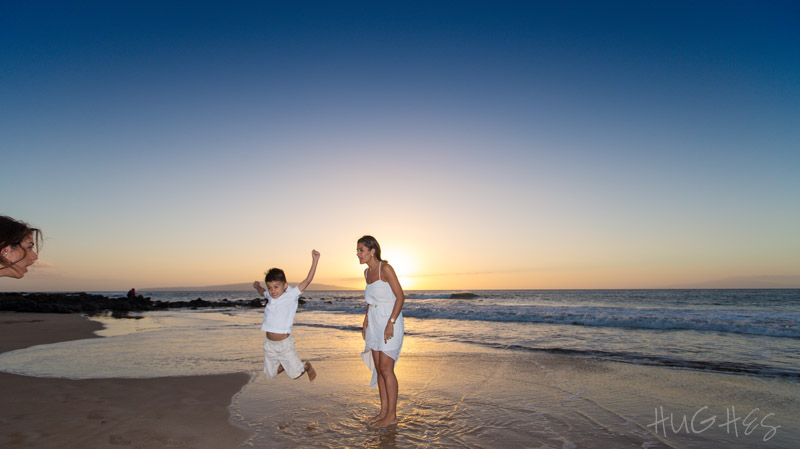 wailea maui family portrait, levitation