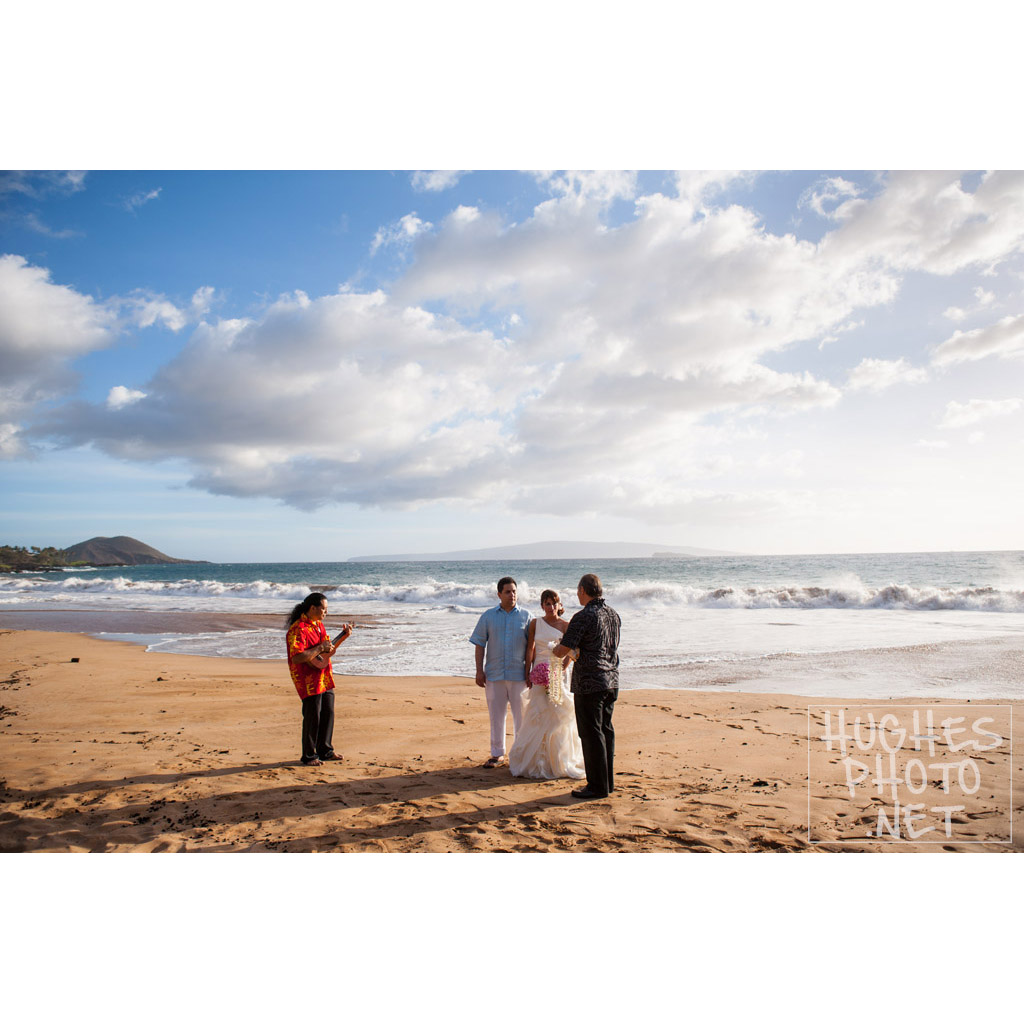 Makena Wedding Ceremony HughesPhoto.Net