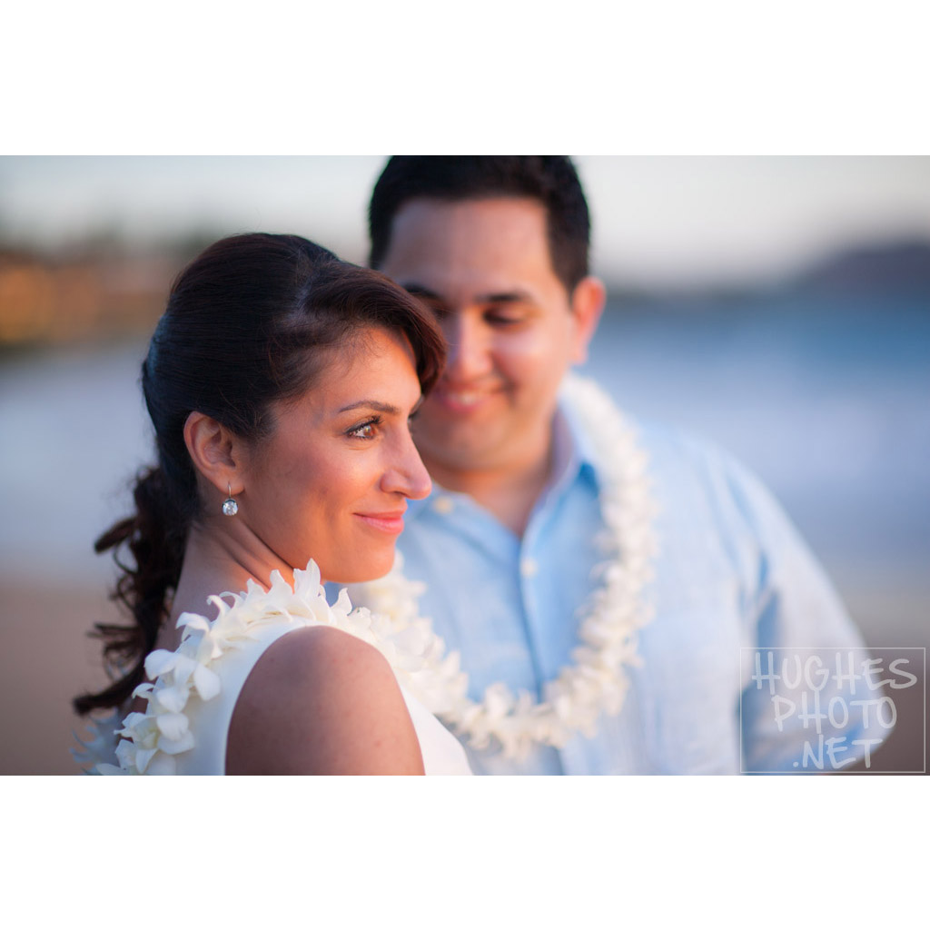 Makena Maui Wedded Bliss - Hughes Photographics
