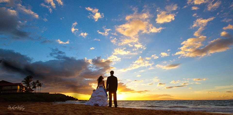 four-seasons-maui-wedding-sunset