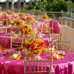 Reception Table Decor at Grand Wailea Resort Maui