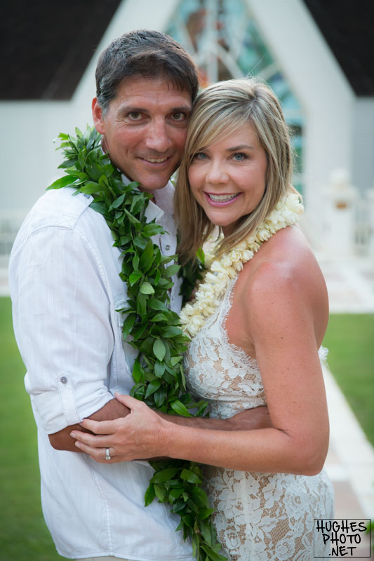 Grand Wailea Wedding Couple