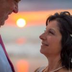 maui wedding sunset bridal portaits