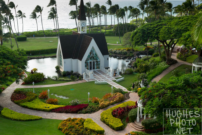 The Seaside Chapel at the Grand Wailea Resort & Spa