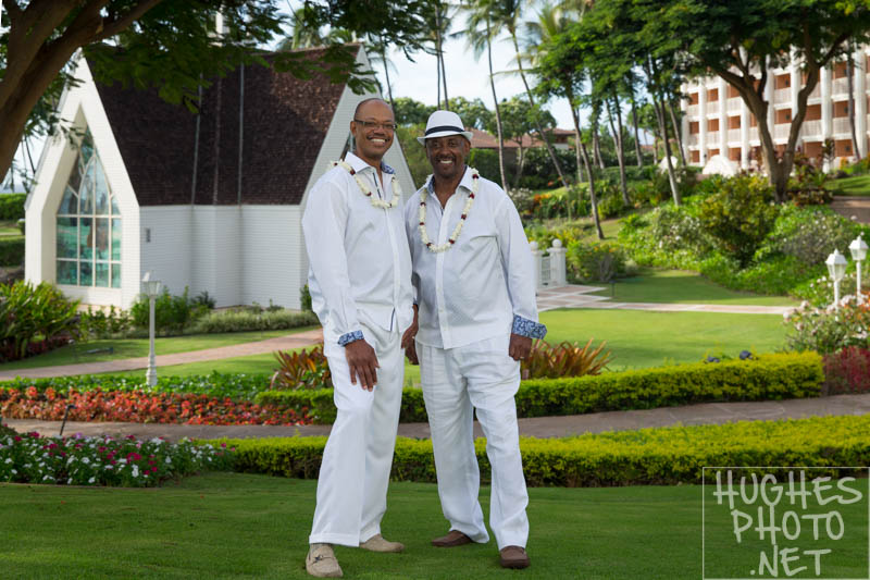 Great Couple Married at the Grand Wailea Resort