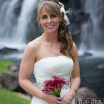 Grands Wailea Bride at Waterfalls