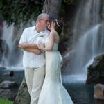 Grand Wailea Resort Waterfall Couple Portrait