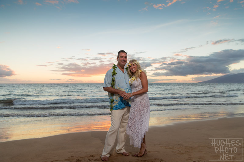Vow Renewal Coupe Wailea Beach