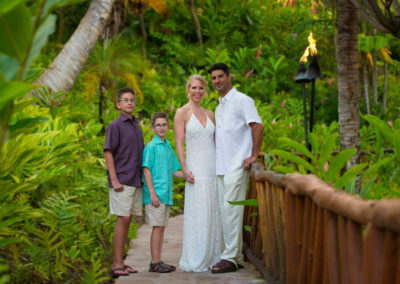 Family Session at the Grand Wailea Resort
